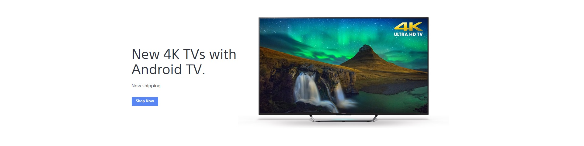 *New 4K TVs with Android TV