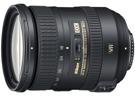 Image for Nikon AF-S DX NIKKOR 18-200mm f/3.5-5.6G ED VR II