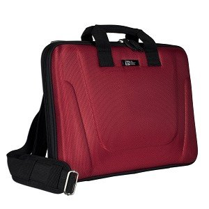 "Pacific Design Nucleus PC Portfolio - Notebook Case - 15.4"" - Red"
