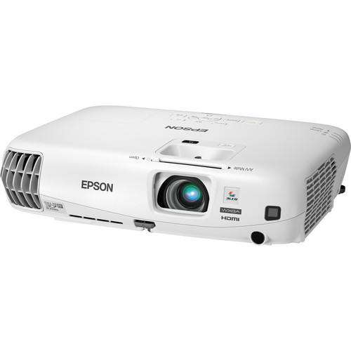 Image for Epson PowerLite W16 - Portable 3D WXGA HD 3LCD Projector