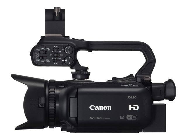 Image for Canon XA20 3.09 MP Camcorder - 1080p
