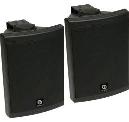 Image for Boston Acoustics Voyager 50 Black Outdoor Speakers (Pair)