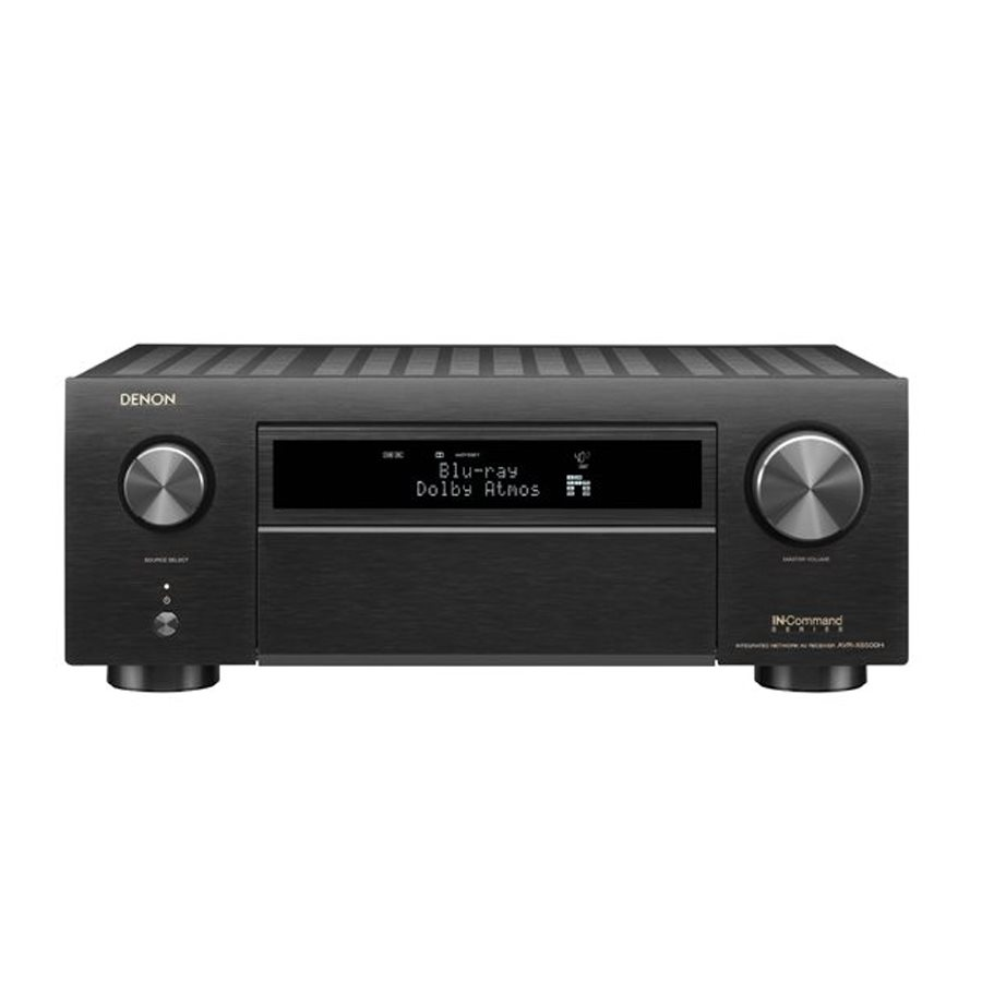 Denon AVR-X6500H 11.2-Channel 4K AV Receiver