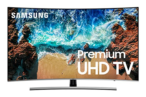"Samsung UN55NU8500 55"" Curved 4K Ultra HD Smart LED TV"