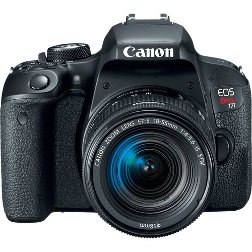 Image for Canon EOS REBEL T7i 24.2MP DSLR Camera with 18-55 Lens Kit