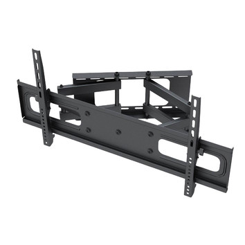 "Premium Low Profile Dual Arm 180° Articulating WallMount -  for 65"" to 90"" LED/Plasma TV"