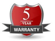 5 Year Extended Warranty for Video (up to $2500)