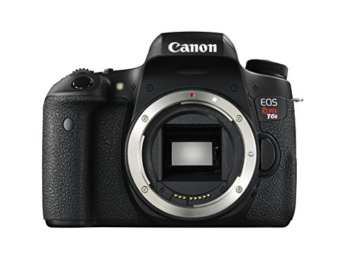 Canon EOS Rebel T6s 24.2MP DSLR Camera - Body Only - Wi-Fi Enabled