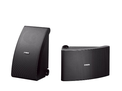Image for Yamaha NS-AW592BL 150 Watt 6.5-Inch Cone All-Weather Speakers (Black)