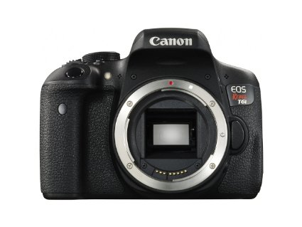 Canon EOS Rebel T6i 24.2MP DSLR Camera - Body Only