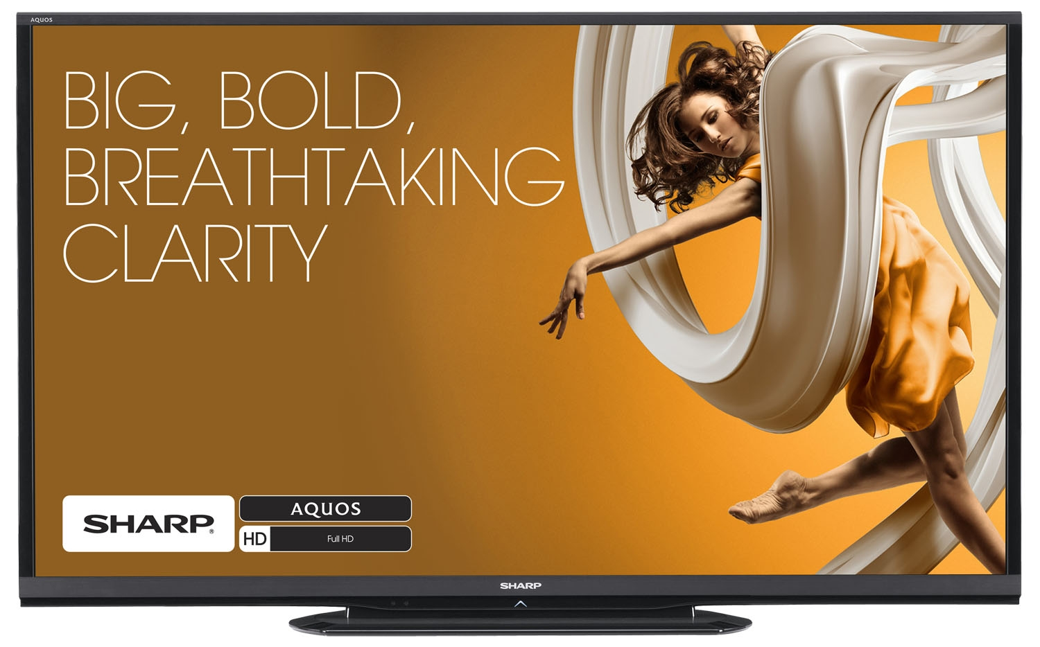 Sharp AQUOS LC-90LE657U 90'' 1080p 120Hz 3D Smart LED HDTV
