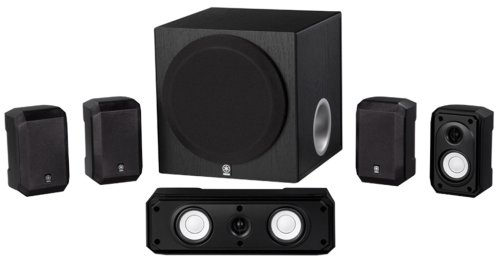 Image for Yamaha NS-SP1800BL 5.1-Channel Home Theater Speaker System
