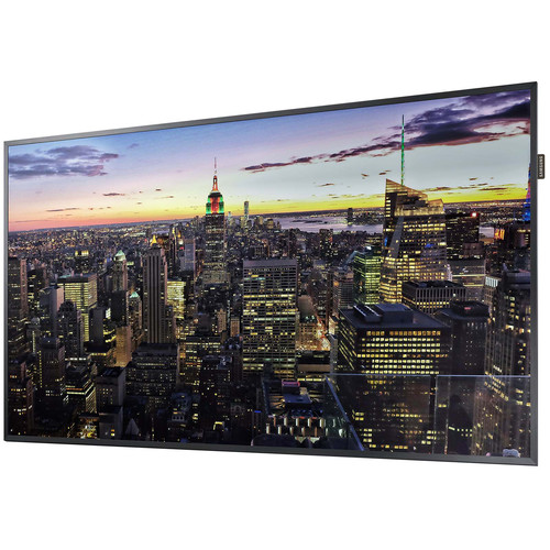 "Samsung QM49H 49""- 4K Ultra HD Commercial Smart LED Display"