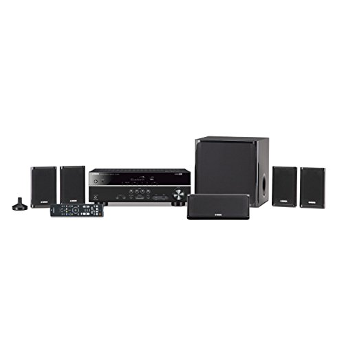Yamaha YHT-4930UBL 5.1 Channel Home Theater System - Black
