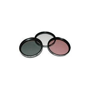 72mm Pro Titanium High Resolution Multi Coated 3 Piece Filter Kit (Black)