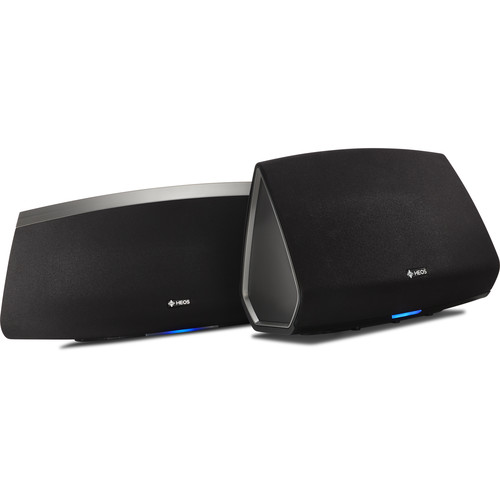 Denon HEOS 5 and HEOS 7 Bundle Speakers - Wireless - Black