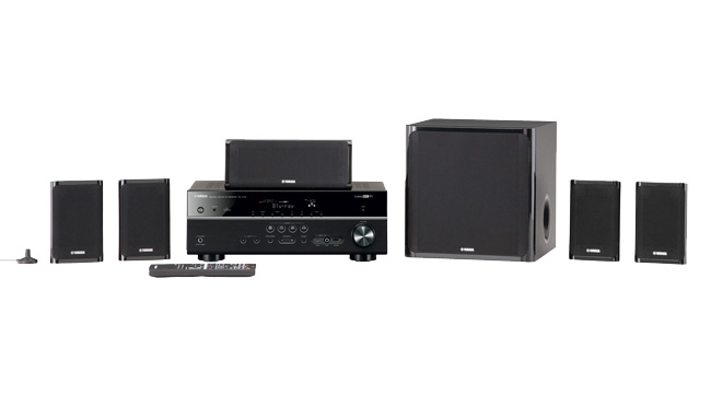 Yamaha YHT-599UBL 5.1 Channel Home Theater In A Box System
