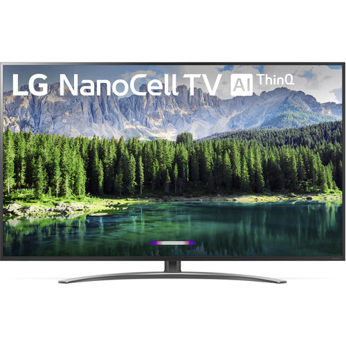 "LG Electronics 75SM8670PUA 75"" 4K UHD Smart LED TV w/ AI ThinkQ (2019)"