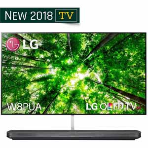 "LG Electronics OLED77W8PUA 77"" UHD 4K HDR Smart OLED TV w/ AI ThinQ"