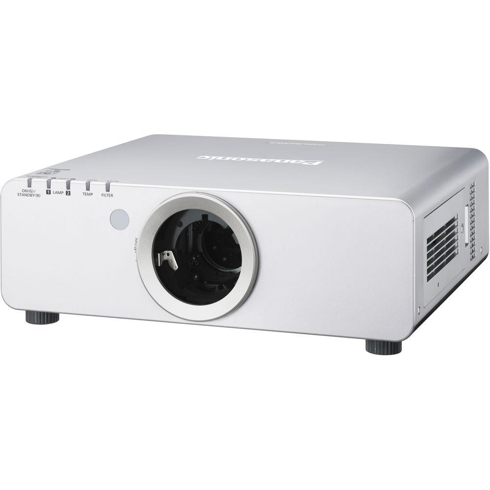 Panasonic PT-DW640ULS WXGA DLP Projector (Silver)