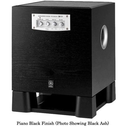 "Yamaha YST-SW215PN 8"" Powered Subwoofer (Piano Black)"