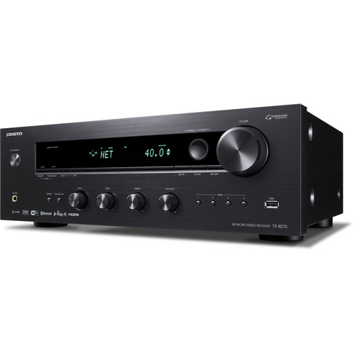 Onkyo TX-8270 Network Stereo Receiver with Bluetooth and Wi-Fi