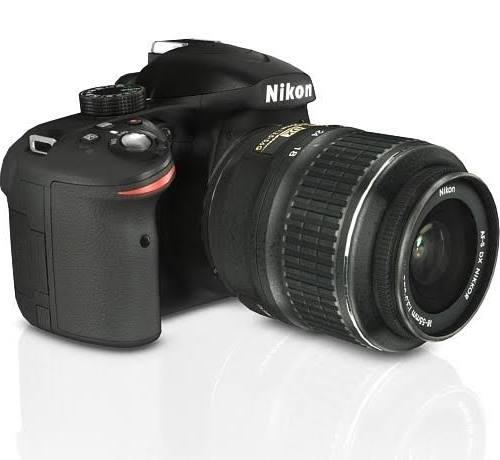 Image for Nikon D3200 Digital SLR Camera w/ AF-S DX 18-55mm VR Lens (Black)
