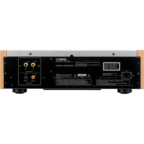Image for Yamaha CD-S1000BL Natural Sound Super Audio CD Player - Black