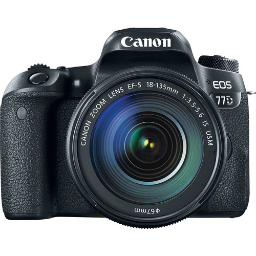Image for Canon EOS 77D 24.2MP DSLR Camera with 18-135 Lens Kit
