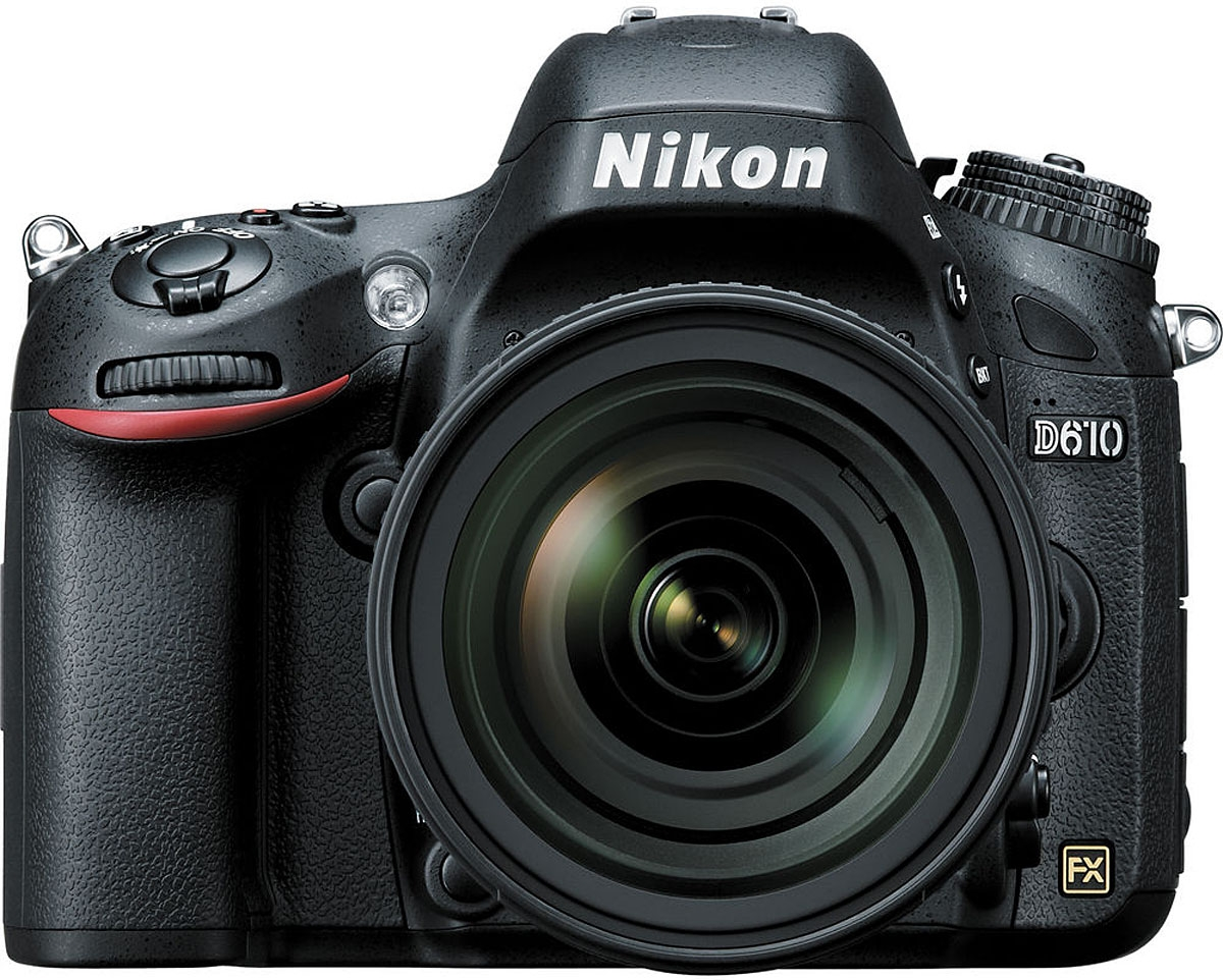 Nikon D610 Digital SLR Camera With 24-85mm VR Lens Kit