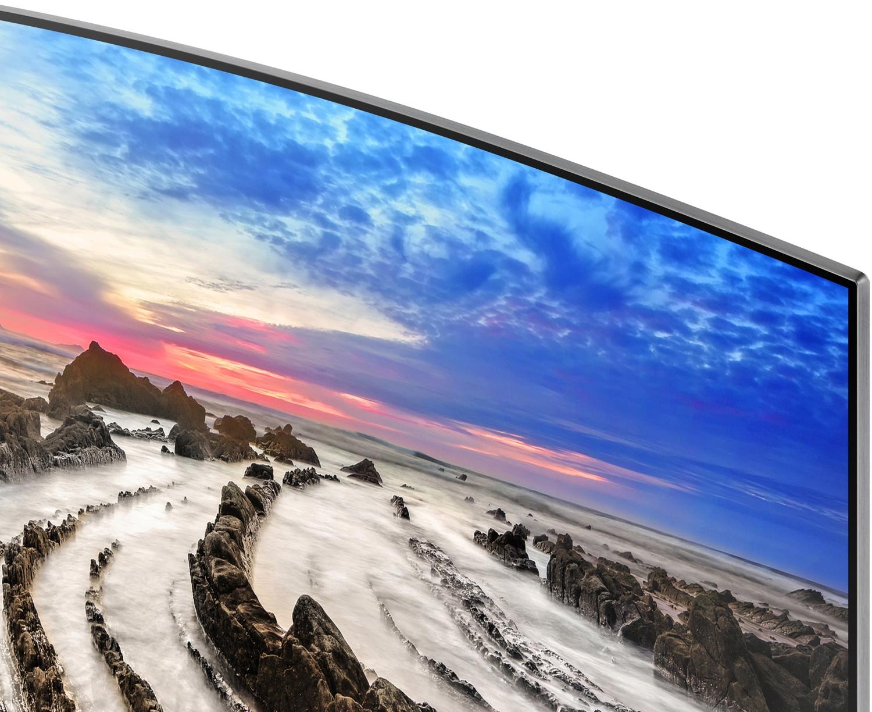 """Image for Samsung UN55MU8500 55"""" Black UHD 4K HDR Curved LED Smart HDTV"""