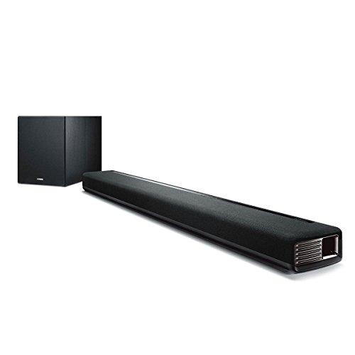 Yamaha YAS-706 MusicCast Wireless Multiroom Sound Bar, Black
