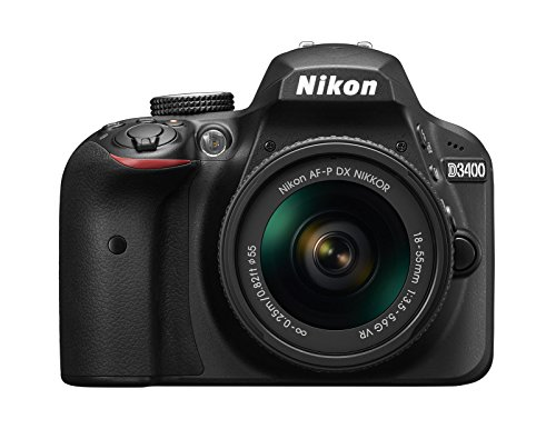 Nikon D3400 24.2MP DSLR Camera with 18-55mm Lens