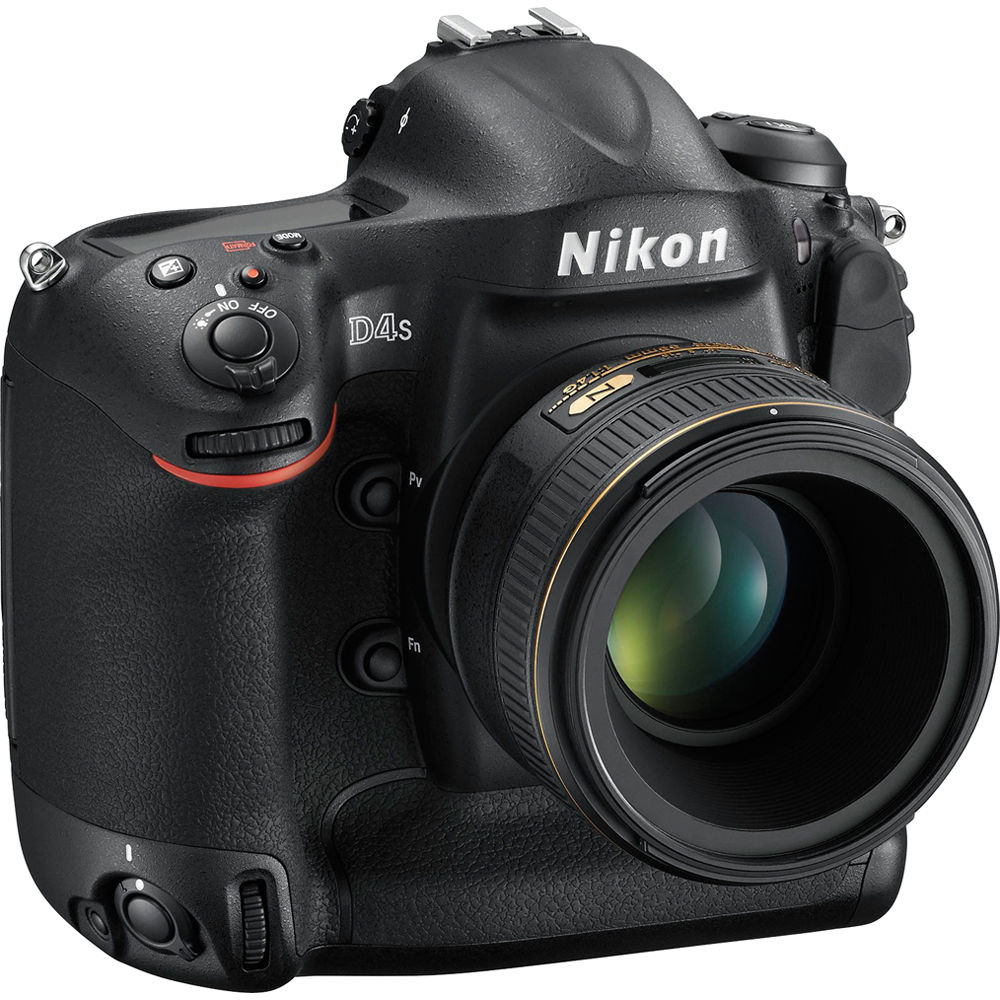 Nikon D4S 16.2MP DSLR Camera (Body Only)