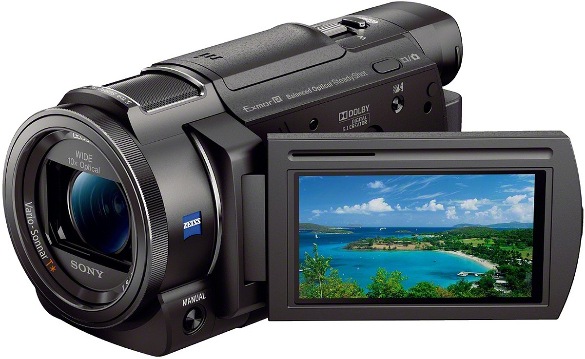 Sony Handycam FDR-AX33 Ultra HD Camcorder - 4K - 18.9 MP - Black