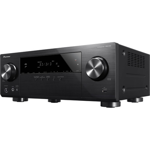 Pioneer VSX-532 5.1 Channel AV Networked Receiver - Black