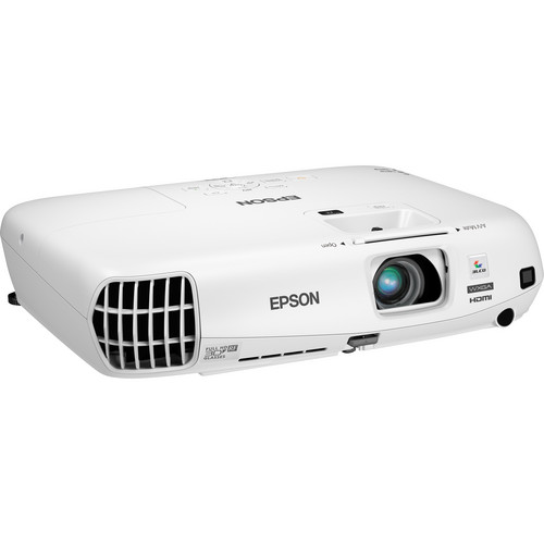 Epson PowerLite W16 - Portable 3D WXGA HD 3LCD Projector