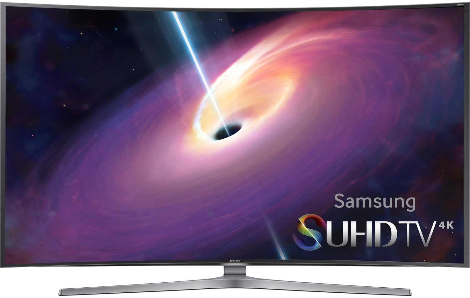 "Samsung UN78JS9100 78"" Silver SUHD 4K Curved LED Smart HDTV"