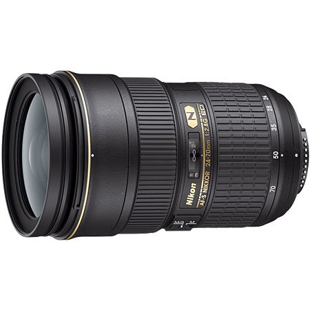 Image for Nikon AF-S NIKKOR 24-70mm f2.8G ED Lens