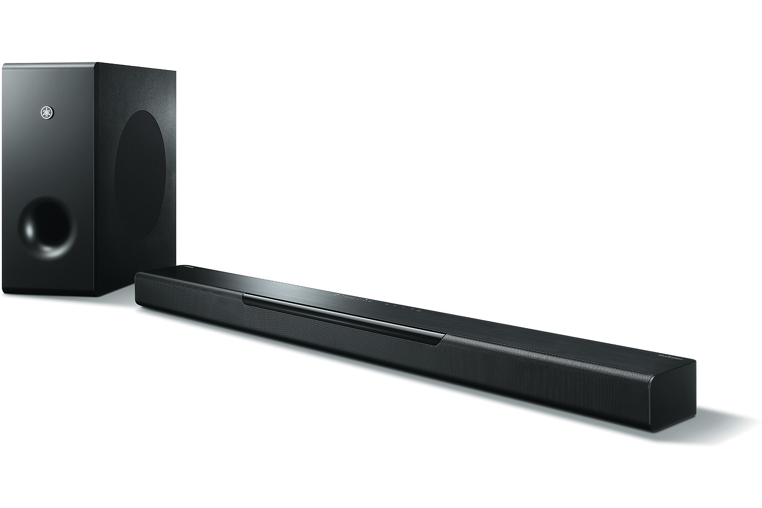 Yamaha MusicCast BAR 400 Sound Bar with Wireless Subwoofer and Alexa Connectivity - Black