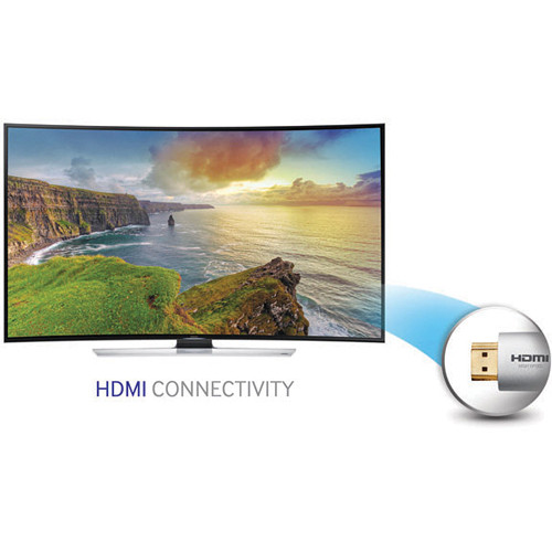 Image for Samsung UN55HU9000 55'' Curved 4K UHD 120Hz 3D Smart LED HDTV