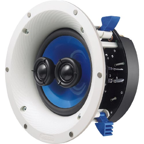 Yamaha NS-ICS600 60w+60w RMS Speaker, White/Blue