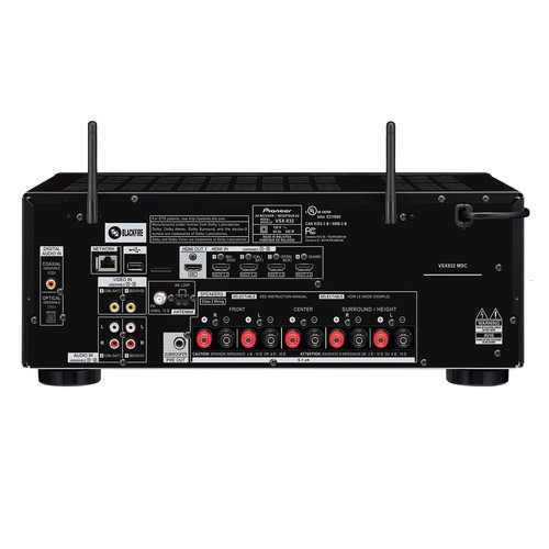 Image for Pioneer VSX-832 5.1 Channel Network Receiver - Black