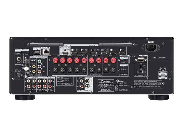 Image for Pioneer VSX-LX103 Elite 7.2 Channel Network A/V Receiver Black