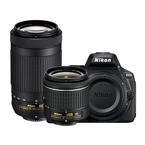 Image for Nikon D5600 24.2MP DSLR Camera with 18-55mm Lens