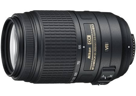 Image for Nikon AF-S DX Nikkor 55-300MM F/4.5-5.6G ED VR Lens