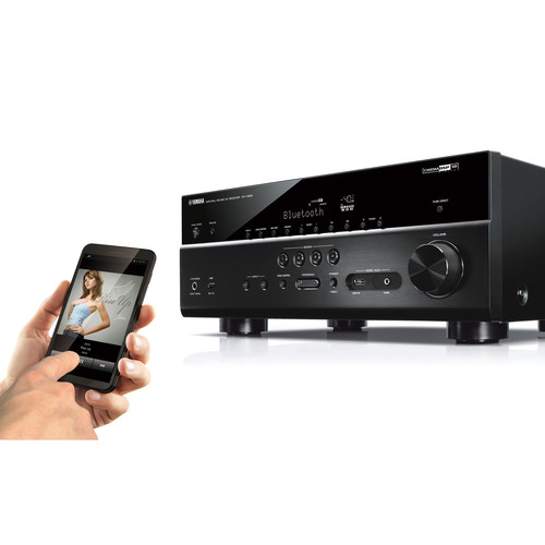 Image for Yamaha RX-V683BL 7.2 Channel AV Network Receiver - Wi-Fi - Black