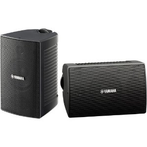 Yamaha NS-AW194BL Indoor/Outdoor 2-Way Speakers (Black,2)