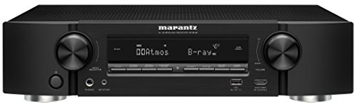 Marantz NR1608 Audio & Video Component Receiver - Black