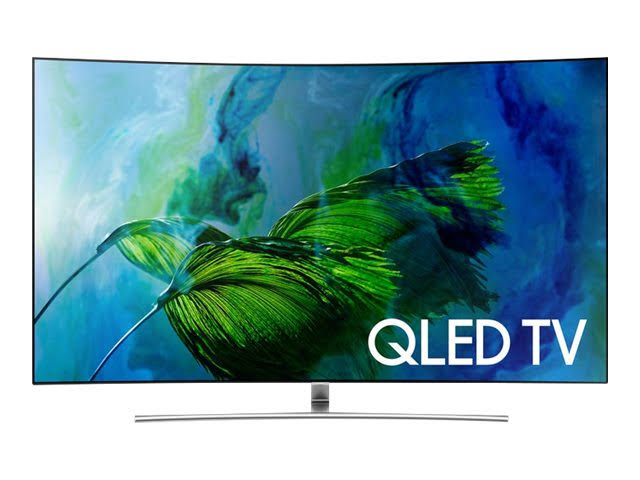 Image for Samsung QN55Q8C 55'' Curved 4K Ultra HD Smart QLED TV